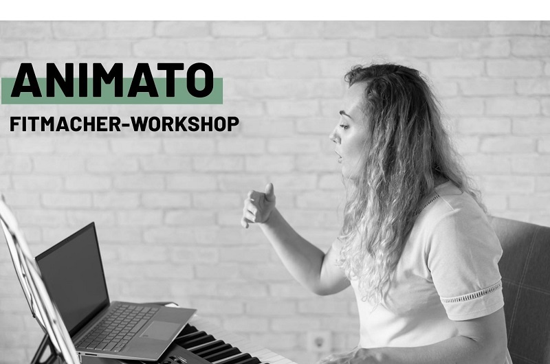 ANIMATO - Fitmacher-Workshop für Sänger/-innen und Musiker/-innen
